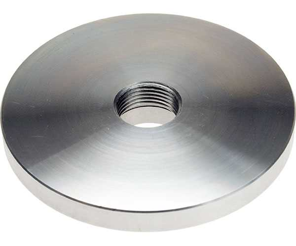 """Plain 5"""" Backplate suitable for Myford lathes"""