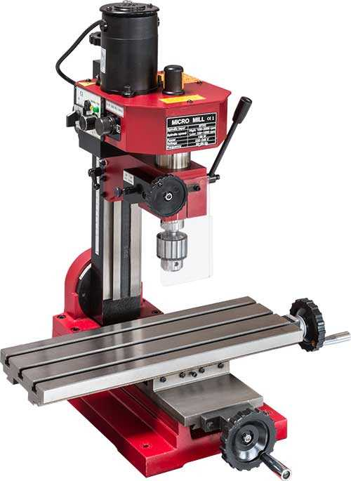 SIEG SX1L Mill - Gear Drive with Brushed Motor
