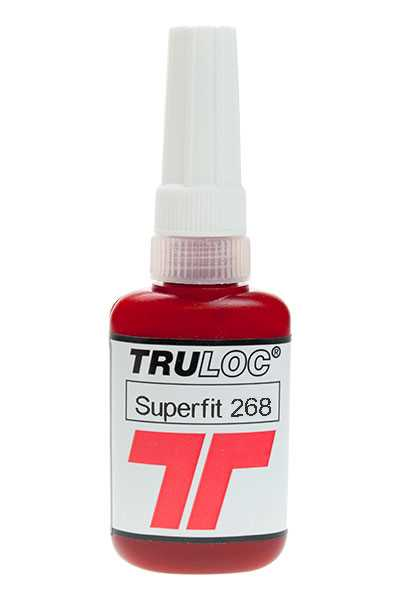 Truloc Superfit 268 High Strength High Temp Retainer 10ml