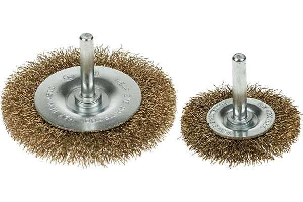 Spindle Mounted Circular Wire Brushes