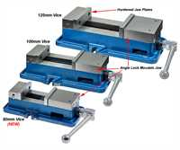 ARC Versatile Milling Vices - without swivel base