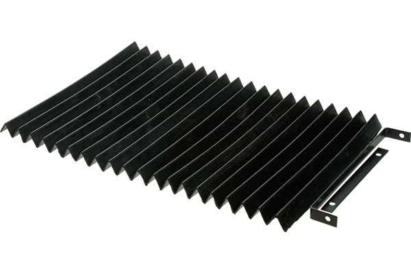 Concertina Bellows 300mm x 200mm - Dip Moulded Rubber