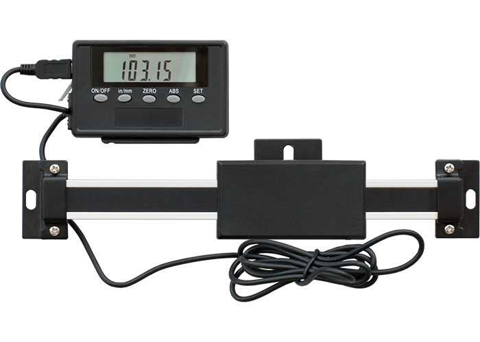 Digital Readout Bars with Dedicated Remote Display