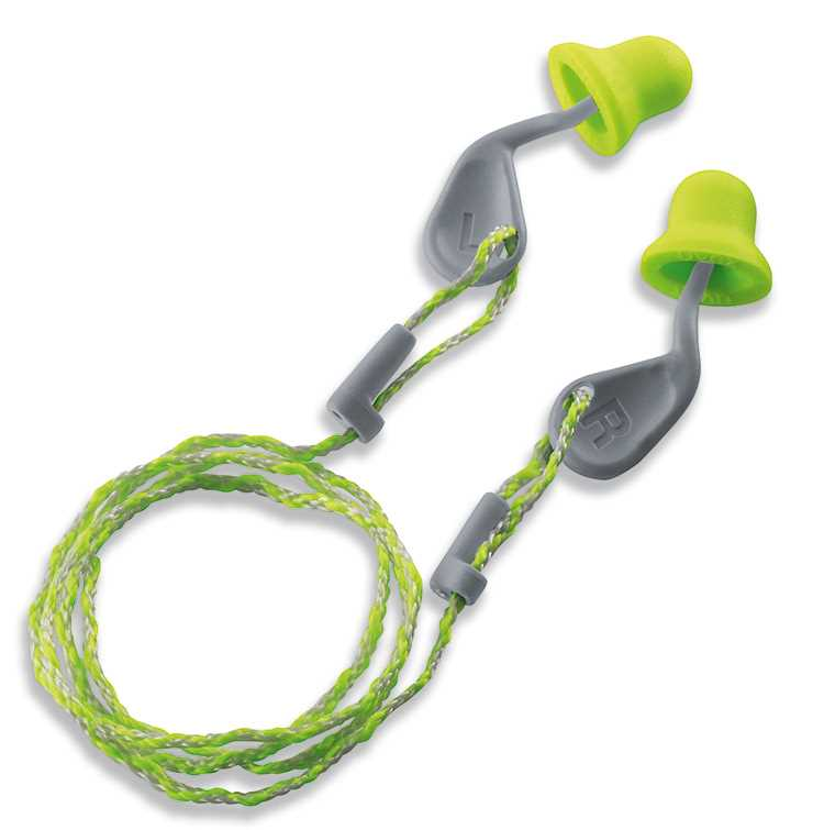 uvex xact-fit Corded Reusable Plugs