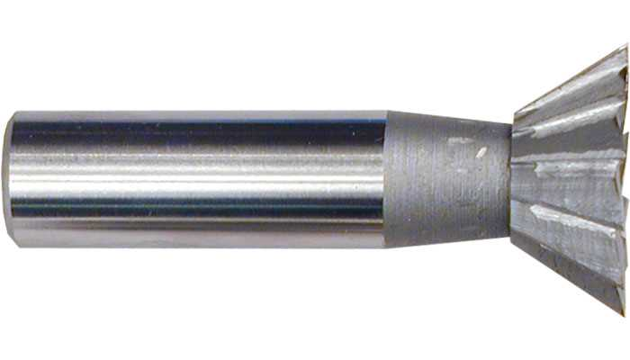 HSS Dovetail Milling Cutters 60 degrees