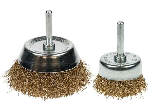 Spindle Mounted Cup Wire Brushes