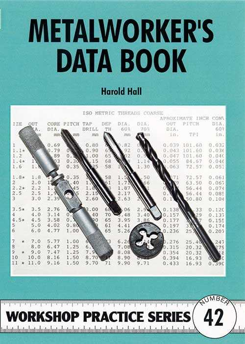 Metalworker's Data Book by Harold Hall