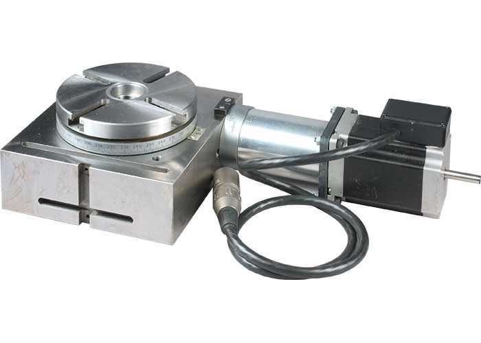 """4"""" Rotary Table with Stepper Motor"""