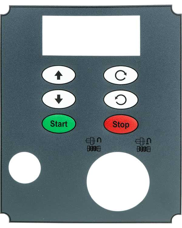 SC4-54-B Touch Panel Overlay