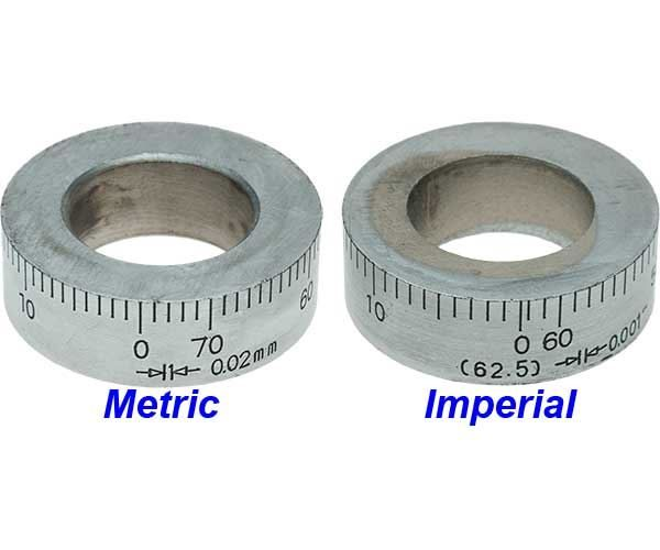 SX2LF-8 Metric and Imperial Micrometer Dials