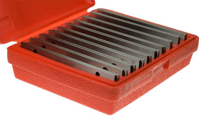 """Precision Thin Parallels - Set of 10prs 6""""x1/8"""" - 1/2"""" to 1.5/8"""""""